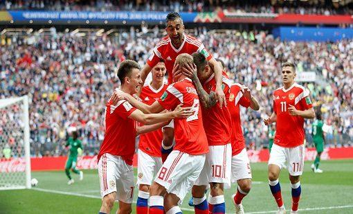 قبل مواجهة مصر.. التلفزيون الألماني يتهم المنتخب الروسي بتعاطي المنشطات