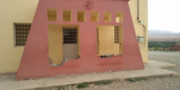 بالصور من إقليم بولمان.. مشاريع المبادرة الوطنية للتنمية البشرية تحولت إلى خراب!!