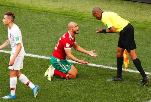مباراة المغرب والبرتغال.. الفيفا يحقق في واقعة قد تغير نتيجة المباراة!!