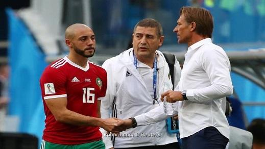 سيغيب مدة أسبوع عن التداريب.. أمرابط لن يلعب ضد البرتغال