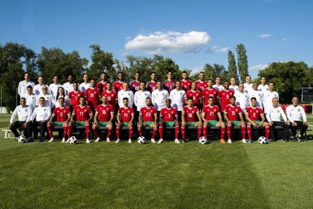 مونديال روسيا.. الصورة الرسمية للمنتخب المغربي