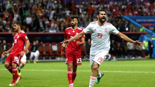 بعد فوزها على إيران.. إسبانيا تنتظر المغرب لحسم التأهل