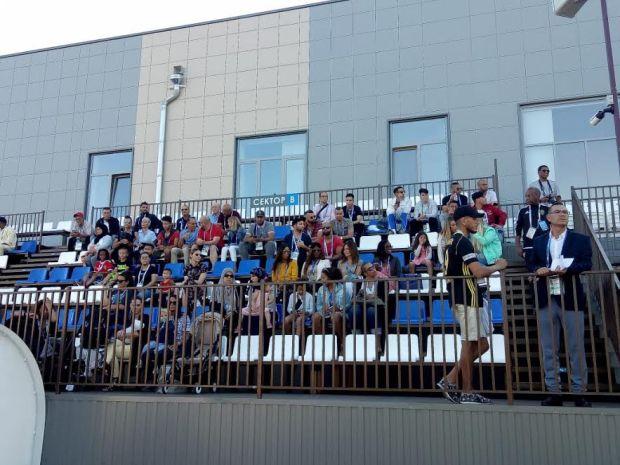 استعدادا للبرتغال.. أسود الأطلس يتدربون بحضور عائلاتهم