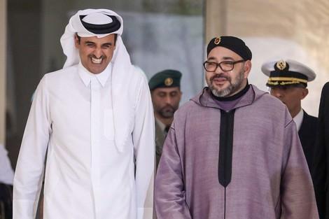 عاجل.. الملك يتصل بأمير قطر والأخير يؤكد استعداد بلاده لدعم المغرب لاحتضان كأس العالم 2030