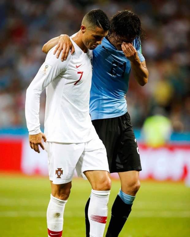 الأوروغواي تقصي البرتغال وتضرب موعدا مع الديوك.. رونالدو تبع ميسي