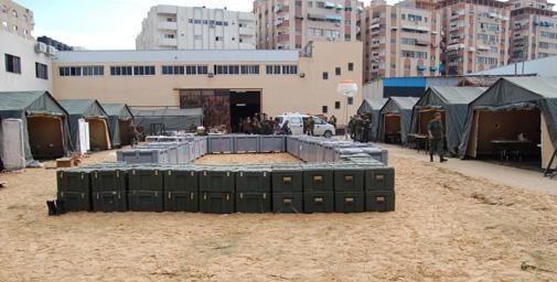 المستشفى الميداني في غزة.. مكتب تنسيق الشؤون الإنسانية يشيد بالمغرب