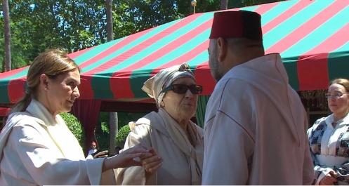ابنة عبد الكريم الخطابي: الحب الذي طالما كنت أكنه للملك قد زاد اليوم