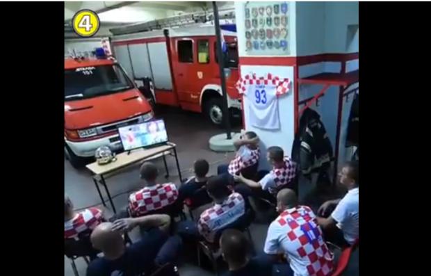 بالفيديو.. رجال إطفاء كرواتيين والخدمة ديال النية
