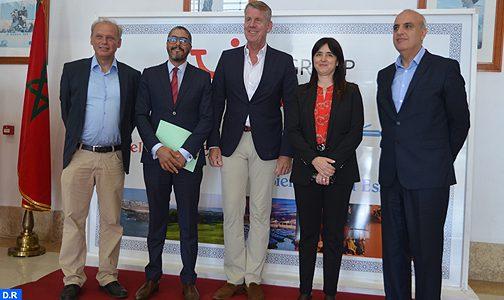 لتعزيز وجهات مراكش وأكادير والسعيدية.. لمياء بوطالب تتباحث مع رئيس مجموعة سياحية عالمية