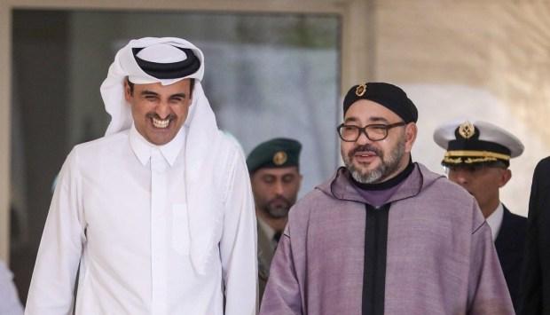 في مقر إقامته في المضيق.. أمير قطر التقى الملك محمد السادس؟