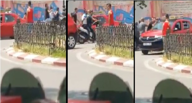 التغيير يبدأ من المقهى.. مواطن صوّر عصابة كتكريسي مول طاكسي في فاس (فيديو)