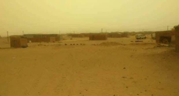 الحرارة فاقت 54 درجة.. كارثة إنسانية تهدد سكان مخيمات تندوف