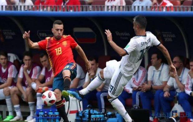 إسبانيا تغادر المونديال على يد المنتخب الروسي.. لعنة المغاربة!