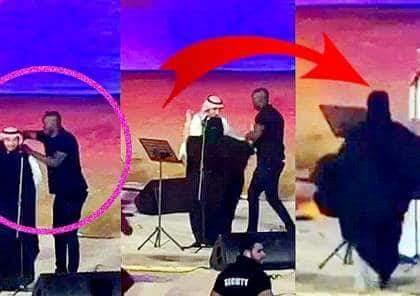 """بالصور والفيديو.. سعودية مهددة بالسجن والغرامة بسبب """"تعنيقة"""" ماجد المهندس! (صور)"""
