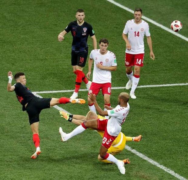 هدف في وقت قياسي.. كرواتيا تصل مربع الكبار على حساب الدنمارك (صور)