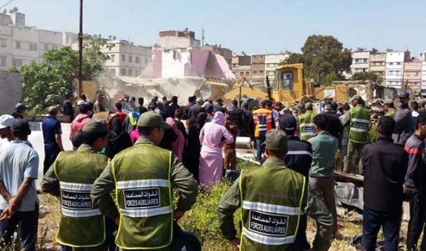 طنجة.. مواجهات في حملة ضد البناء العشوائي