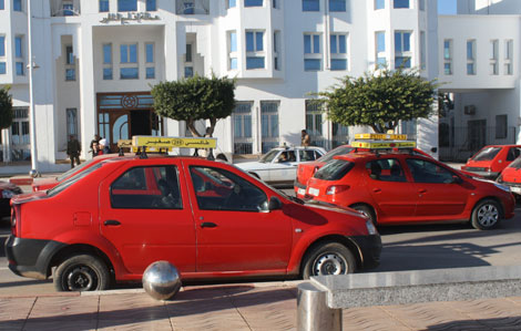 يهم سائقي الطاكسيات في كازا.. اتفاقية مهمة
