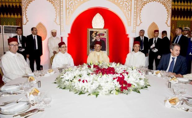 أقامها العثماني.. الأمير مولاي رشيد يترأس مأدبة عشاء في طنجة