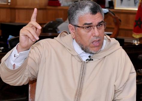 الرميد أمام شبيبة البيجيدي: البوليس في الحسيمة لم يكن يحمل الرصاص فلا تشيطنوا مؤسسات الدولة