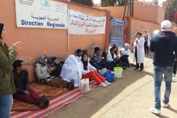 ممرضو جهة مراكش آسفي: نتبرأ من الدخلاء على مِهنتنا بحجة الخصاص (وثيقة)