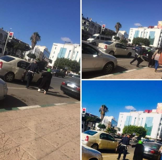 قطّعها الشانطي.. الشرطة في خدمة المواطنين (صور)
