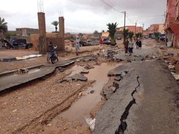 الأرصاد الجوية: ردّو البال من الشتا ديال الصيف وفيضانات الأودية
