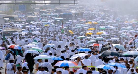 نشرة إنذارية للحجاج في السعودية.. أمطار في منىً ورياح قوية في جبل عرفة