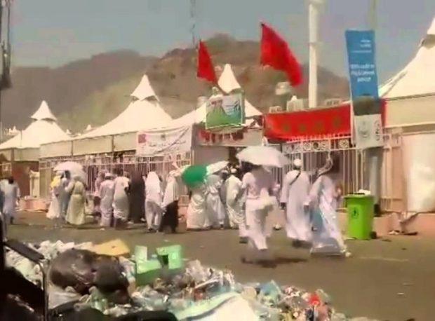 ساجد: ظروف إيواء أكثر من 32 ألف حاج مغربي جيدة