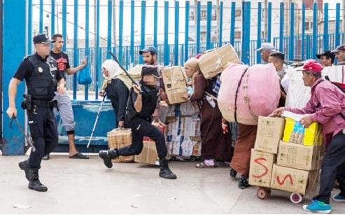 مقابل تشجيع ميناء بني انصار.. المغرب يوقف التجارة عبر مليلية