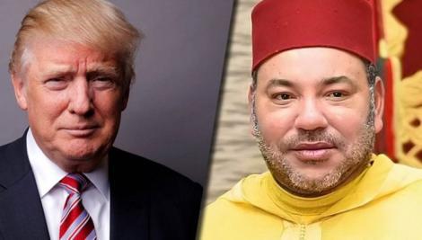 ترامب للملك بمناسبة ذكرى عيد العرش: مرتاح للصداقة الأمريكية المغربية