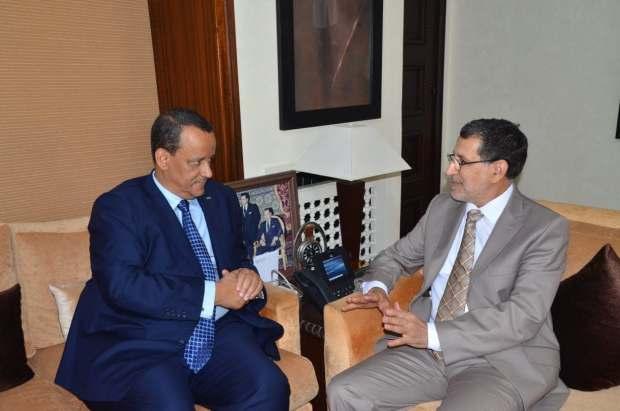 الفلاحة والصيد والتعليم.. مباحثات بين العثماني ووزير خارجية موريتانيا