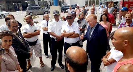 بعد أزمة ميناء طنجة.. بوليف يبرر ويلتمس الأعذار