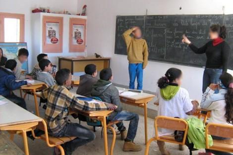 بعد الدارجة.. الرياضيات بالفرنسية في القنيطرة! (وثائق)