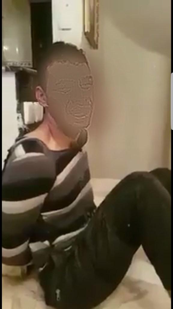 شدوه سلخوه .. عائلة حصلات شاب جاي عند بنتهم للدار! (فيديو)