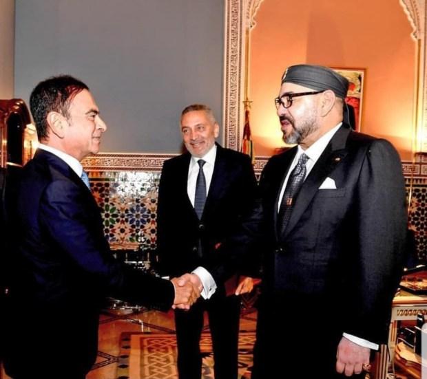 مراكش.. الملك يستقبل مولاي حفيظ العلمي والرئيس المدير العام لمجموعة رونو