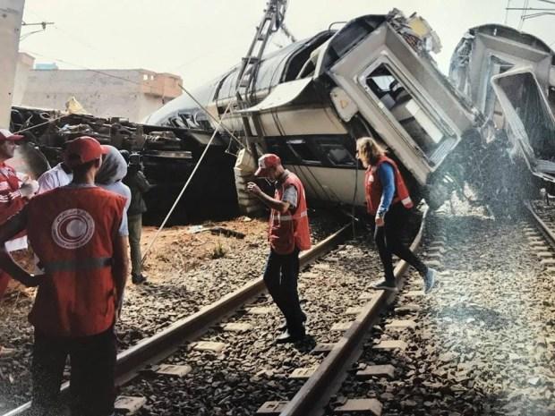 ركاب وعمال: السكة هي سبب فاجعة القطار