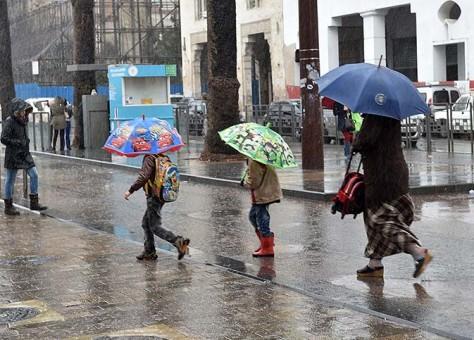 اليوم الاثنين.. طقس غائم وأمطار وزخات رعدية