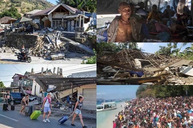 بالفيديو والصور.. 5 آلاف مفقود جراء الزلزال في إندونيسيا