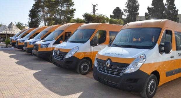لنقل 10 آلاف تلميذ.. 150 حافلة مدرسية جديدة في جهة درعة تافيلالت