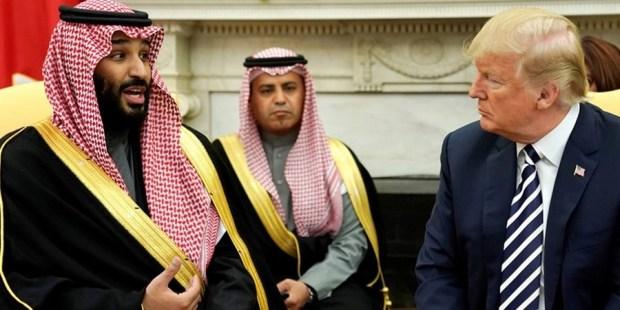 """بن سلمان يرد على """"إهانة"""" ترامب: كنشريو السلاح بفلوسنا… ولن ندفع مقابل أمننا!"""