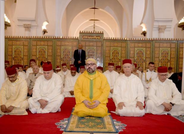أدى صلاة الجمعة في مسجد الكتبية.. الملك في مراكش (صور)