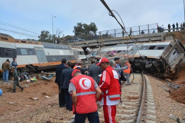 """حادث """"قطار ببوقنادل"""".. لجنة متعددة الاختصاصات لتقديم الدعم النفسي والمعنوي للمصابين"""