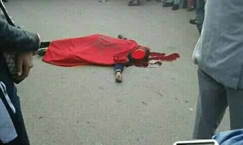 بالصور من مكناس.. وفاة تلميذ في حادثة سير