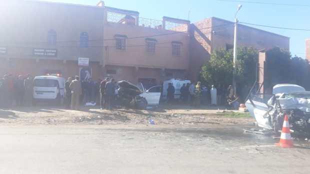 بين أوريكة ومراكش.. مقتل 3 أشخاص وإصابة 4 في حادثة سير