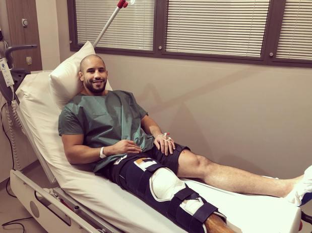 باريس.. أبو بكر زعيتر يجري عملية جراحية على الركبة