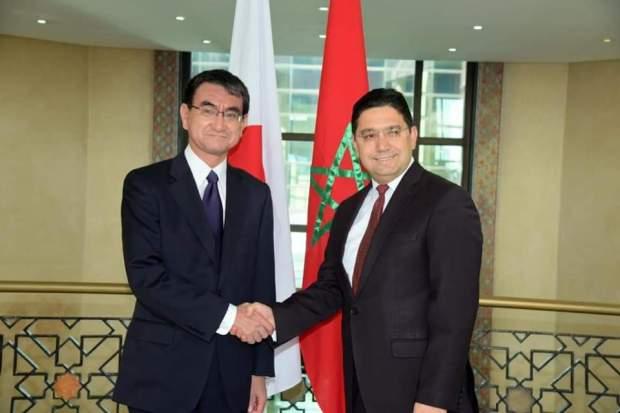 تصرفيقة خايبة.. وزير الخارجية الياباني يؤكد أن بلاده لا تعترف بجمهورية خيال البوليساريو