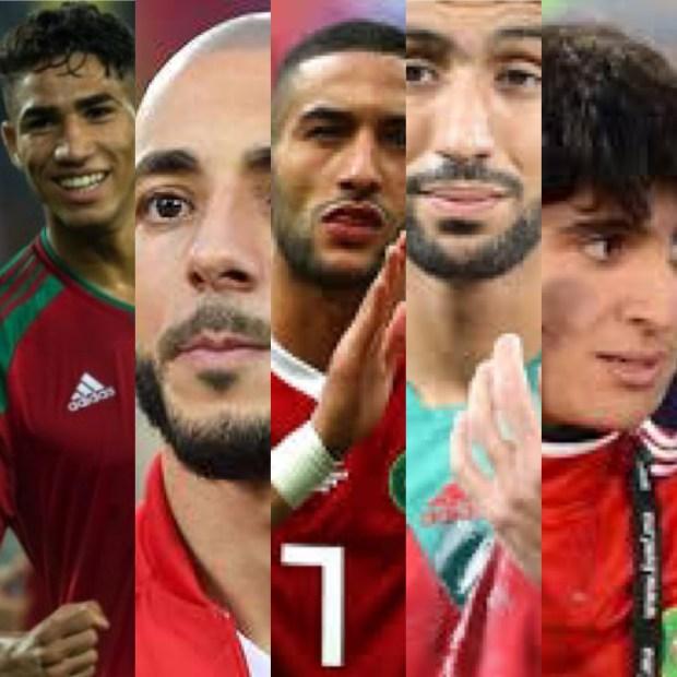 لاعبو المغرب العربي.. 5 مغاربة ضمن التشكيلة المثالية