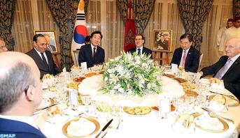 ترأسها العثماني.. الملك يقيم مأدبة عشاء على شرف الوزير الأول في كوريا الجنوبية