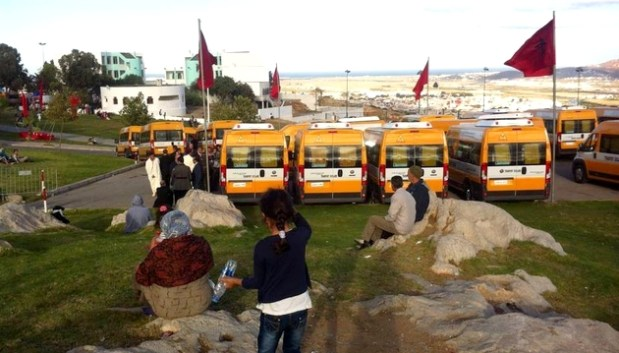 الفحص أنجرة.. توزيع 9 حافلات للنقل المدرسي على 7 جماعات قروية