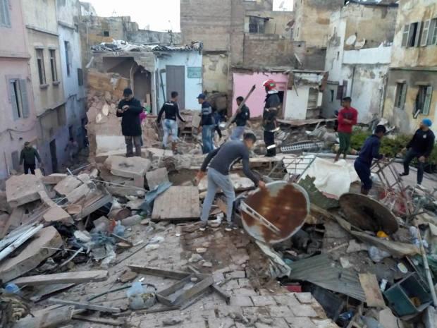 بعد سلسلة الانهيارات.. سلطات البيضاء تخفض مقابل ترحيل سكان المدينة القديمة